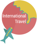 internaional travel