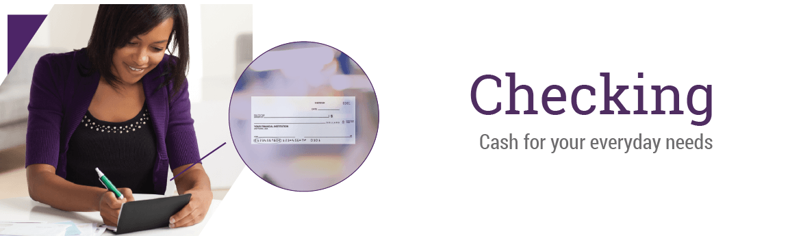 Checking Accounts Page