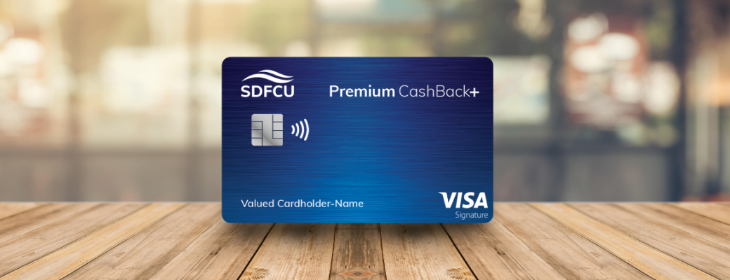 premium cash back + card